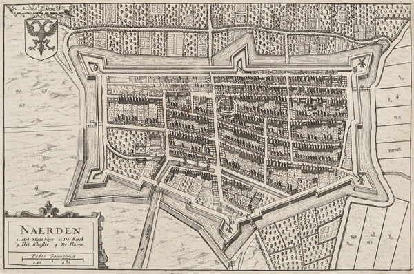 Maps townplans antique prints Tagged naarden
