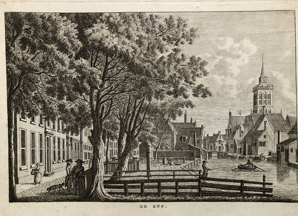This engraving shows in a very nice way De Rijp in the 18th century. Engraved by Bendorp after Jan Bulthuis in 1763