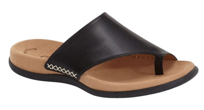 Gabor thong slide black