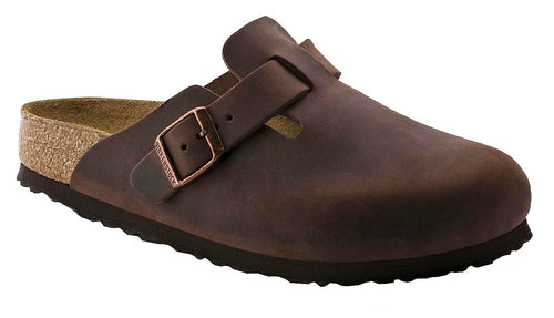 Birkenstock Boston Soft Footbed Habana Oiled Leather