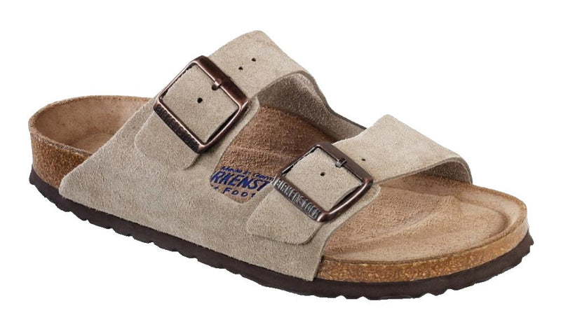 Birkenstock Arizona Soft Footbed Taupe Suede
