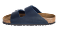 Birkenstock Arizona Soft Footbed Blue Oiled Leather