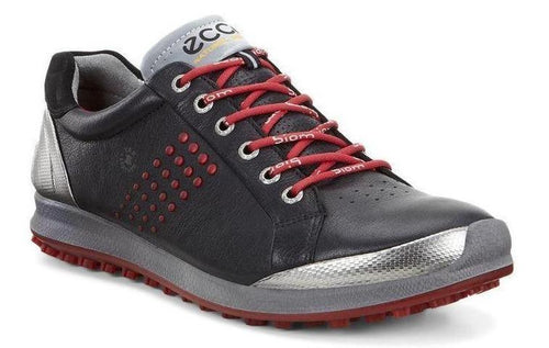 Ecco Men's Biom Hybrid Golf Black/Brick