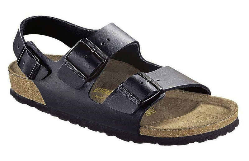 Birkenstock Milano Black Smooth Leather