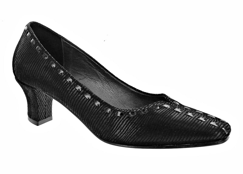 Roberto Capucci Chicco Black Pump