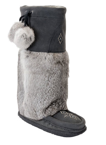 Classic Tall Mukluk Crepe Charcoal