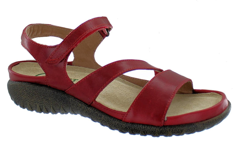 Naot Etera Sandal Red