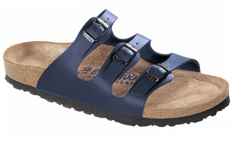 Birkenstock Soft Footbed Blue Birko-Flor