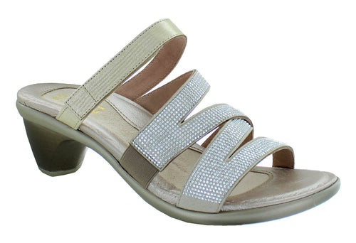 Naot Formal Sandal Gold Silver