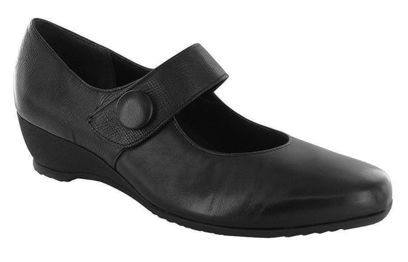Munro Jenna Black Leather