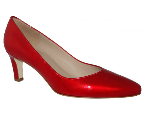 Roberto Capucci Mary Pump Red Patent