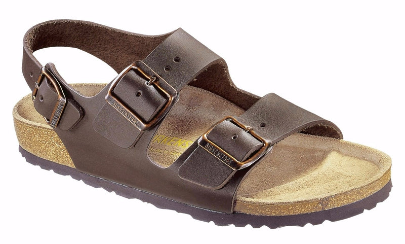 Birkenstock Milano Dark Brown Leather