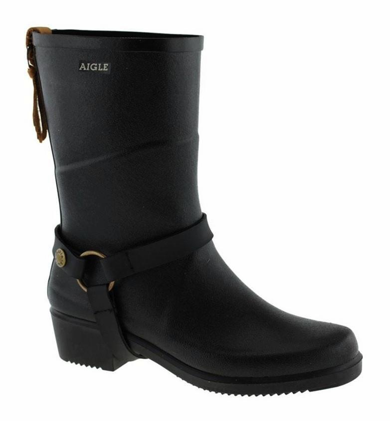 Aigle Boots Miss Julie Black
