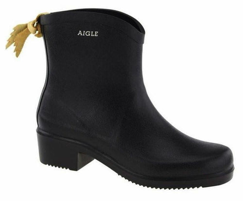 Aigle Boots Miss Juliette Black