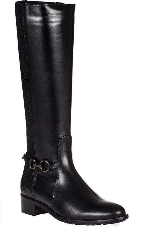 Aquatalia Oralie Tall Boot Black