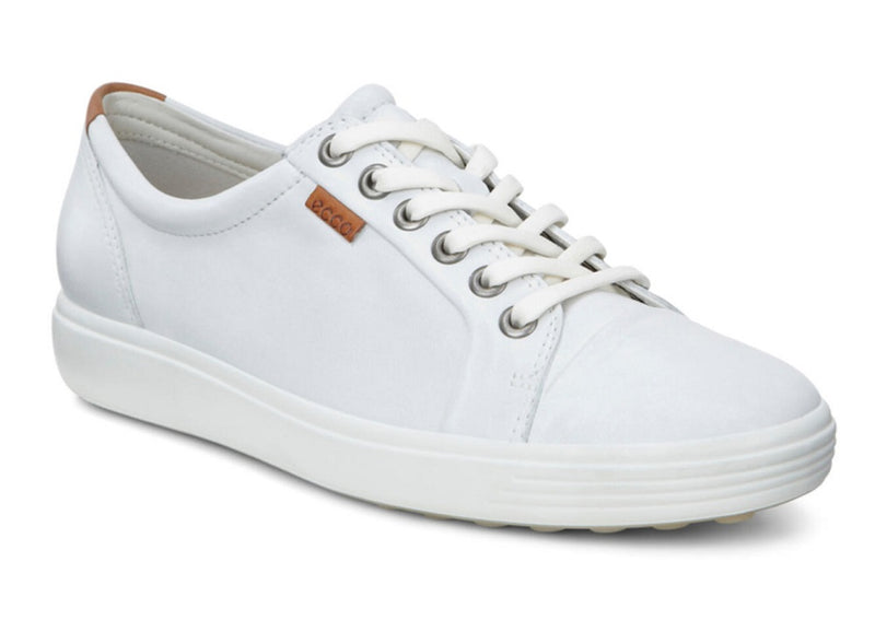 Ecco Women's Soft 7 Sneaker White