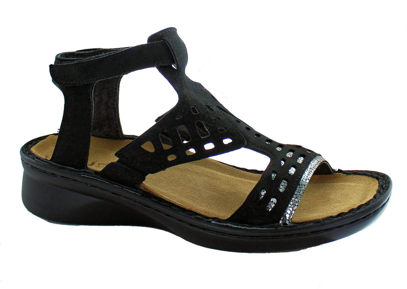 Naot StringSandal Black