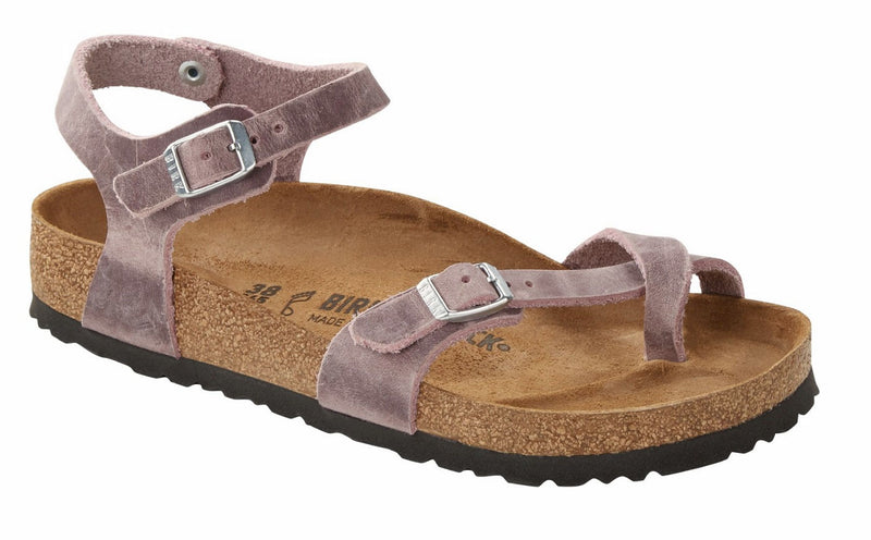 Birkenstock Taormina Lavender Blush Oiled Leather