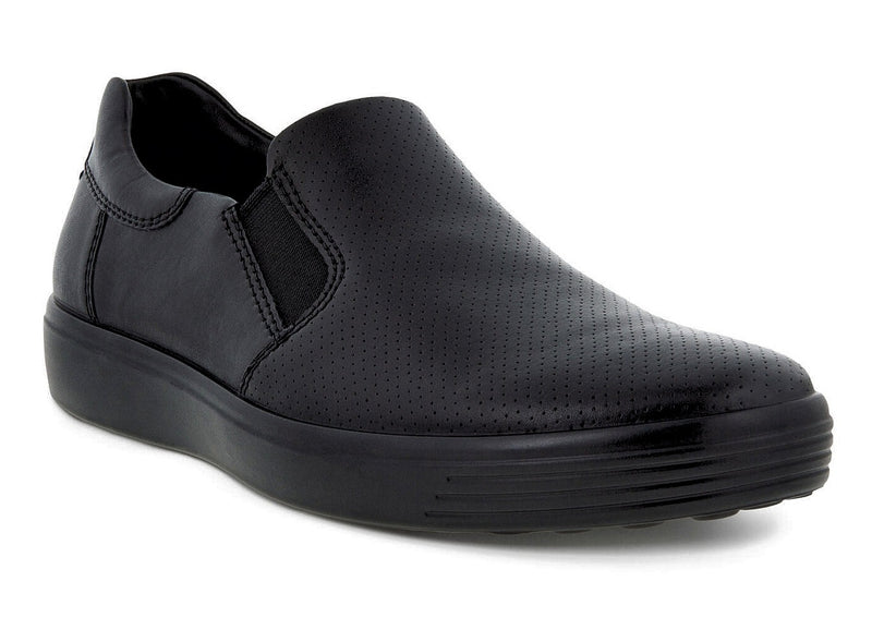 Ecco Men's Soft 7 Slip On Black