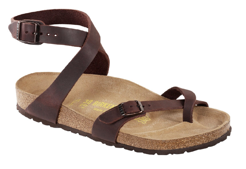 Birkenstock Yara Habana Leather