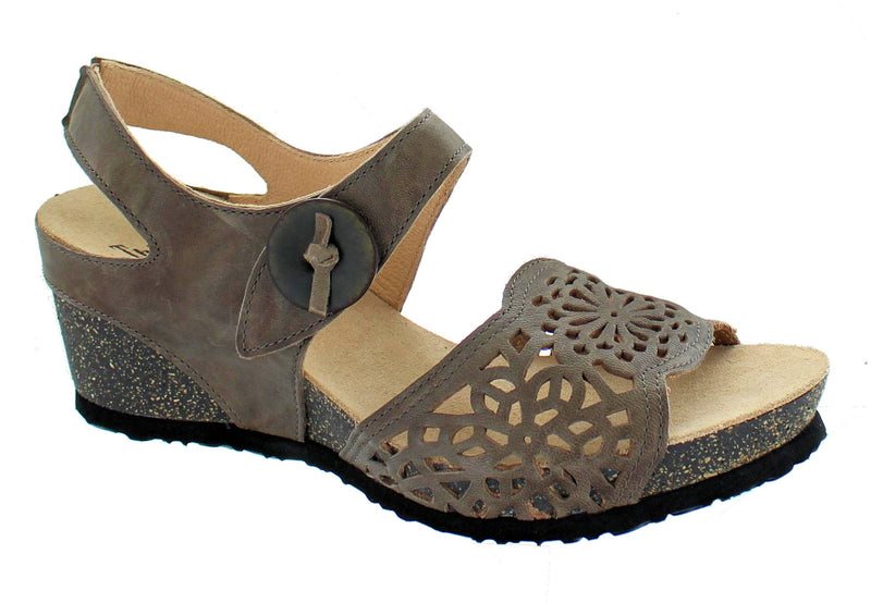 Think Zilli Wedge Taupe