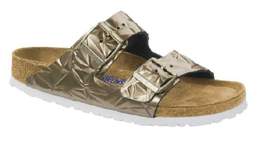 Birkenstock Arizona Soft Footbed Spectral Platinum