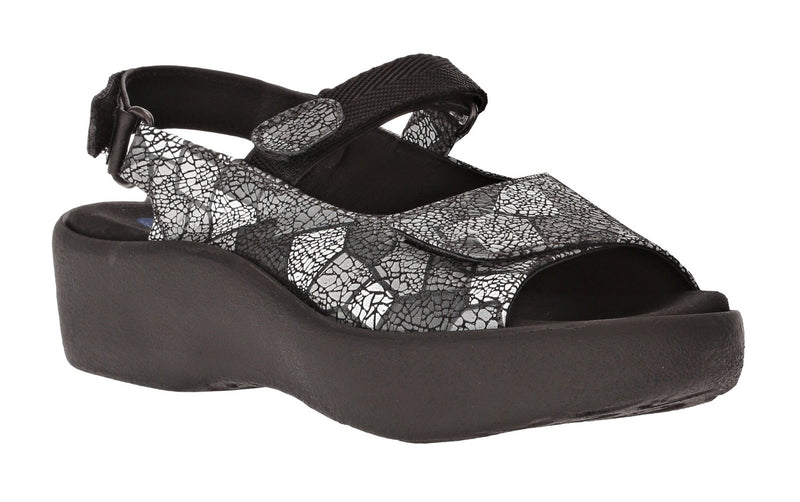 Wolky Jewel Sandal Picasso Gray