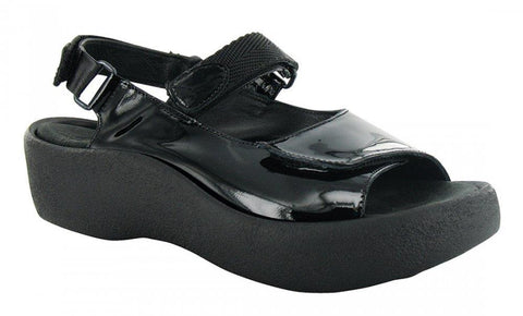 Wolky Jewel Black Patent