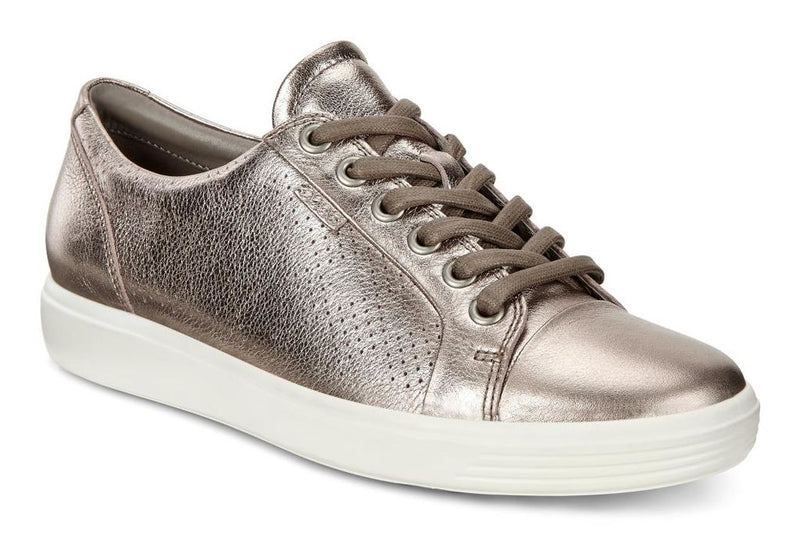 Ecco Women's Soft 7 Perf Sneaker Warm Grey