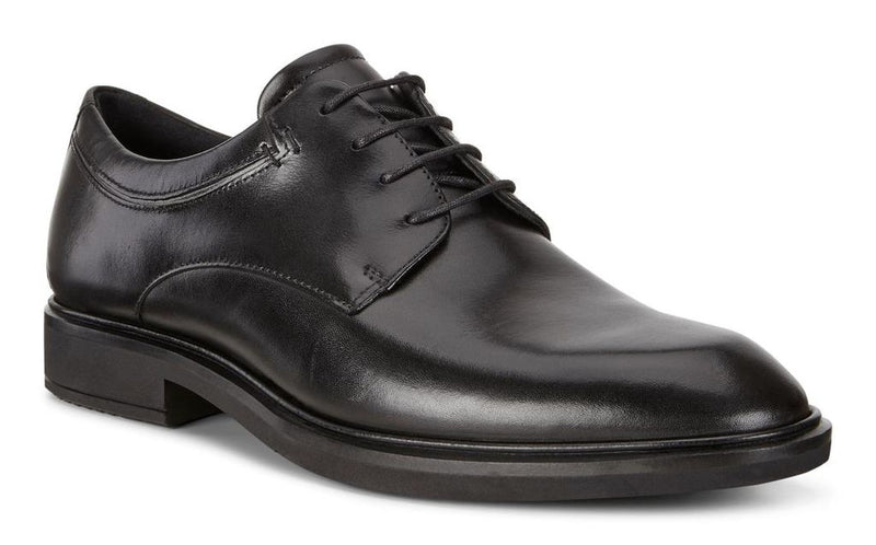 Ecco Men's Vitrus II Apron Toe Lace Black