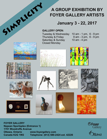 "Foyer Gallery presents ""Simplicity"""
