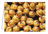 Greeting Card - Annual rubber duck race in the Rideau Canal, Ottawa, Ontario, Canada.
