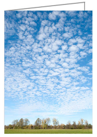 Greeting Card - Ottawa Valley Sky