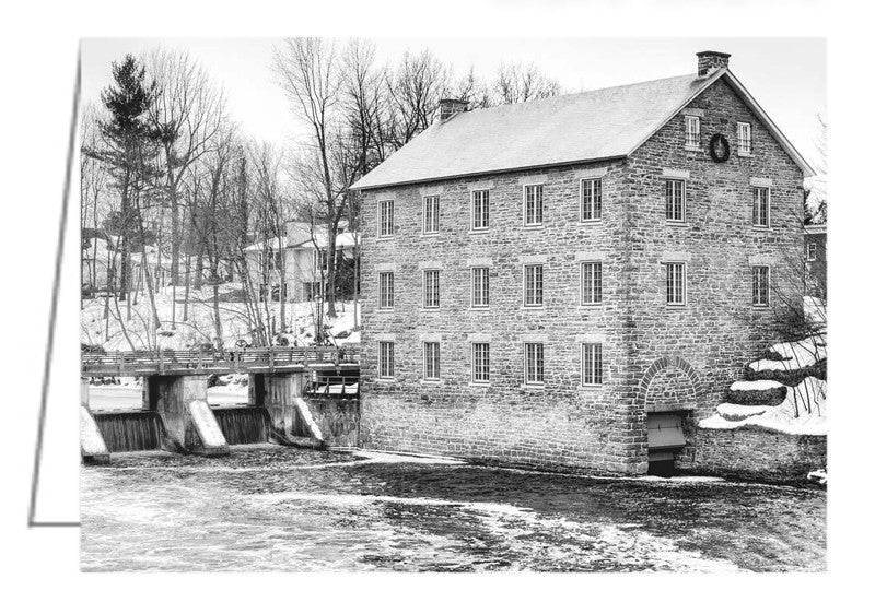 A photo greeting card. Watson's Mill in Manotick, Ontario