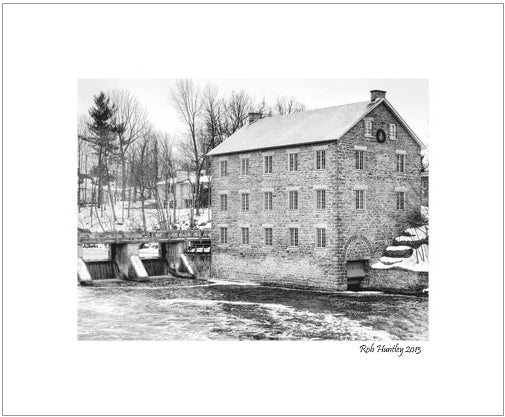 Watson's Mill in Manotick, Ontario on the Rideau River.