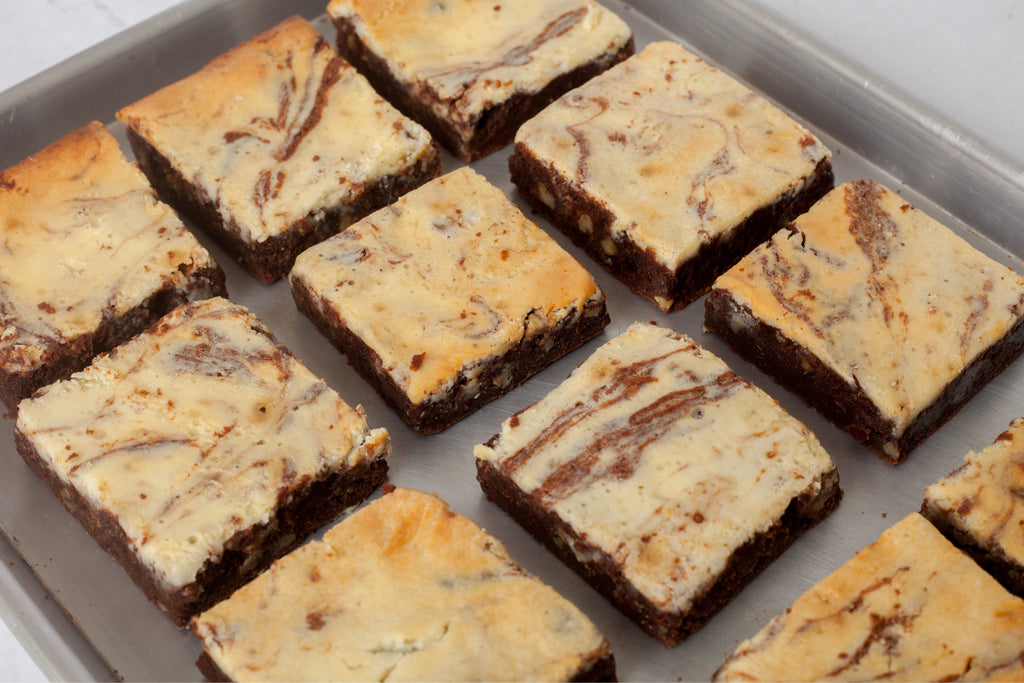 The Dessert Place Cream Cheese Brownies - send desserts as gifts
