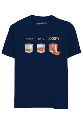 Anxiety Half Sleeves T-Shirt