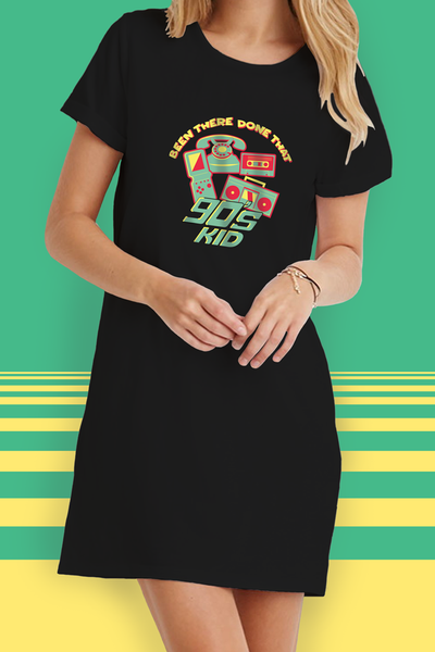 90's Kid T-Shirt Dress