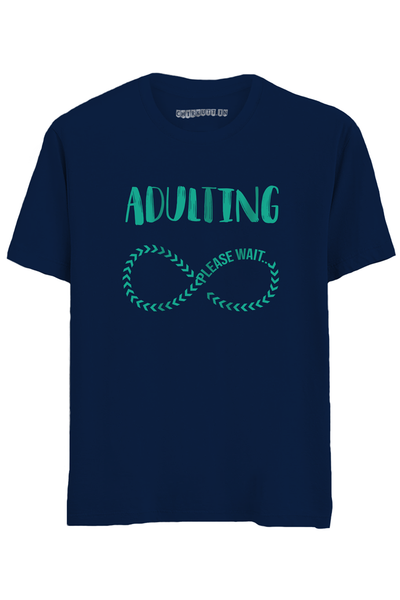 Adultin Half Sleeves T-Shirt
