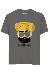 Badass Babua Half Sleeves T-Shirt