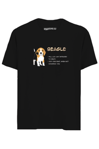 Beagle Half Sleeves T-Shirt