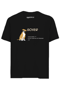 Boxer Half Sleeves T-Shirt