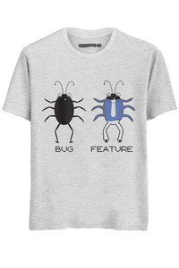 Bug Half Sleeves T-Shirt