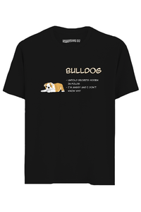 Bulldog Half Sleeves T-Shirt