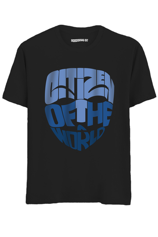 Citizen of the world Half Sleeves T-Shirt