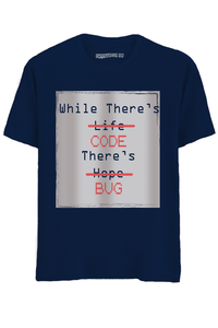 CODE BUG Half Sleeves T-Shirt