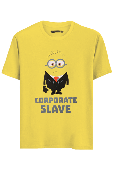 Corporate Slave Minion Half Sleeve T-Shirt