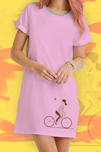 Cycle T-Shirt Dress