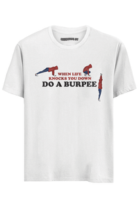 Burpee Half Sleeves T-Shirt