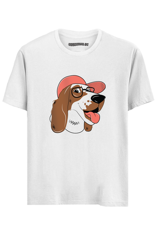 Crazy Dog Half Sleeves T-Shirt